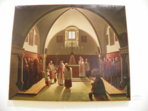 Il coro della Chiesa dei Cappuccini (2 giugno 1896)