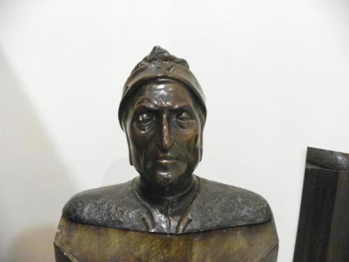 Busto raffigurante Dante