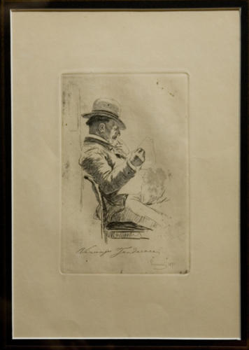 La lettura del giornale (1891)