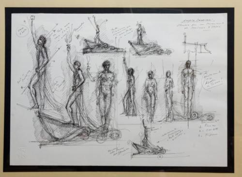 Studio per il monumento al marinaio (1994)